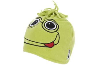 Trespass Childrens/Kids Toadey Frog Beanie Hat (Wasabi)