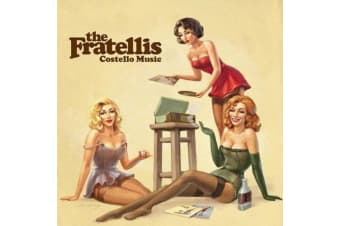 The Fratellis ‎– Costello Music PRE-OWNED CD: DISC EXCELLENT