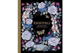Nightfall Coloring Book - Originally Published in Sweden as Skymningstimman