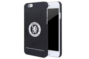 Chelsea FC iPhone 6/6S Aluminium Case (Black) (One Size)