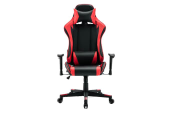 Ergolux RX10 Deluxe Gaming Office Chair (Red, Racing Series)