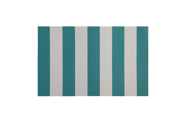 12PK Maxwell & Williams Palm Beach Placemat 45x30cm Dining Table Mat Pad Green