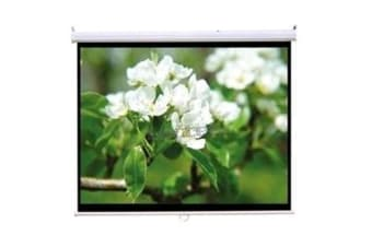 "Loctek MSS2 Projector Screen Manual Self-Lock 100"" Dimensions 221x16x16cm 5Years Warranty"