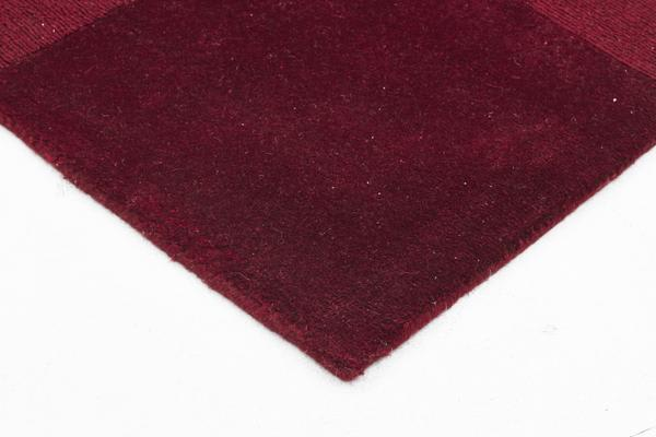 Wool Hand Tufted Rug - Box Red - 300x80cm