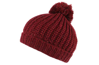 Regatta Kids/Childrens Luminosity II Beanie Hat (Delhi Red) (4-6 Years)