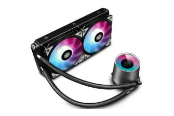 DEEPCOOL Gamer Storm Castle 240RGB AIO Watercooling with Addressable RGB LED