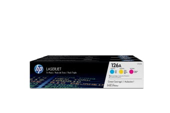 HP 126A Original Cyan,Magenta,Yellow Multipack 3 pc(s)