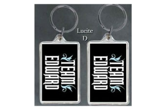 Twilight Lucite Keychain D (Team Edward)