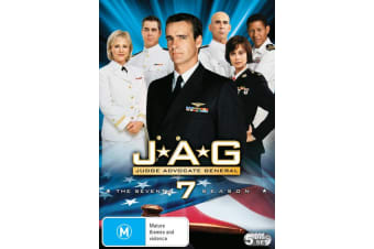 JAG The Complete Seventh Season 7 DVD Region 4