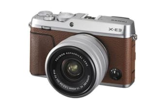 New Fujifilm X-E3 24MP (15-45) Kit Brown (FREE DELIVERY + 1 YEAR AU WARRANTY)