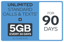 Kogan Mobile Prepaid Voucher Code: MEDIUM (90 Days | 5GB Per 30 Days)