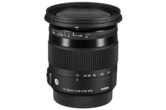New Sigma 17-70mm f/2.8-4 DC OS HSM Contemporary Canon Lens (FREE DELIVERY + 1 YEAR AU WARRANTY)