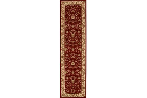 Stunning Formal Classic Design Rug Red 400x80cm