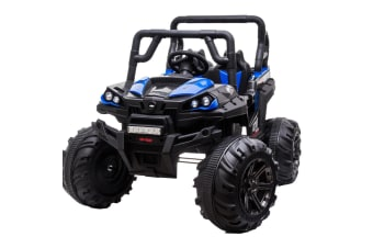 ROVO KIDS Electric Ride-On ATV Car 4WD Boys Toddler Toy Motorised Battery Black