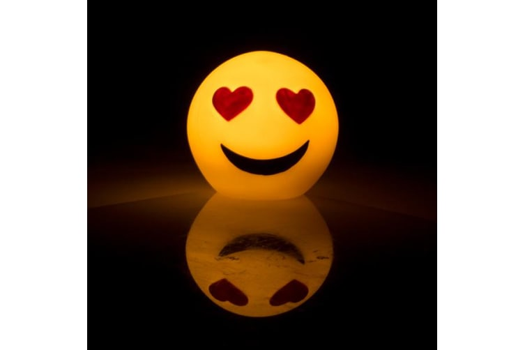 Mini Koolface Led Light I Love  Emoji Night Light Bedroom Table Home Decor