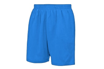 AWDis Just Cool Childrens/Kids Sport Shorts (Royal Blue) (3-4 Years)