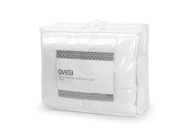 Ovela Duck Down and Feather Quilt (Single)