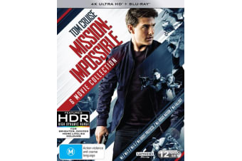 Mission Impossible The 6 Movie Collection 4K Ultra HD Boxset UHD Region B