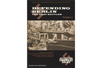 Voices From Hitler's Army Defending Berlin- Vol 3 - Series DVD NEW
