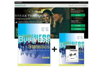 Value Pack Basic Business Statistics + MyLab Math with eText