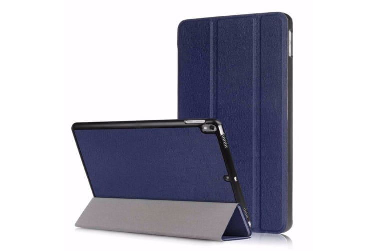 Apple iPad Air3 10.5 2019 Leather Shockproof Flip Smart Case Cover-NavyBlue