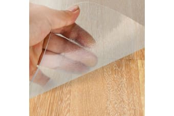 Clear 90 x 120cm Hard Floor Chair Mat