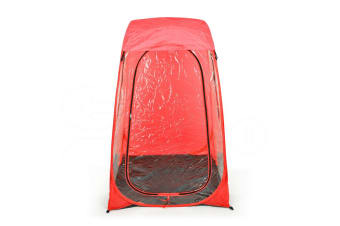 Pop Up Camping Garden Beach Portable Weather Tent Sun Shelter Fishing Red
