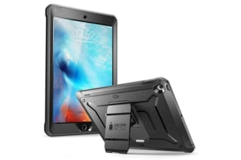 "SUPCASE Unicorn Beetle Pro Full Body Rugged Case for iPad 10.2""  7th Gen.  -Black with integrated"
