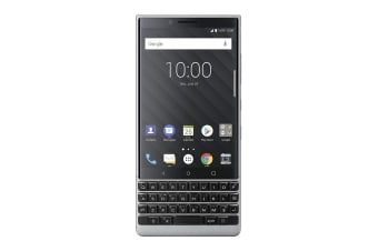 BlackBerry KEY2 Dual SIM BBF100-6 (64GB, Silver)