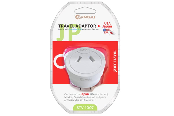 Sansai Travel Adaptor- Japan (STV-1007)