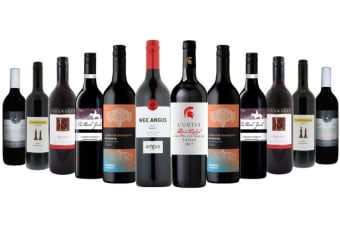 Plush Reds Mixed Wine (12 Bottles)