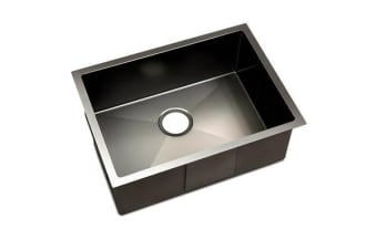 600 x 450mm Stainless Steel Sink (Black)