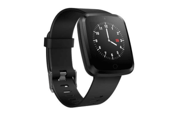 TODO Bluetooth V4.0 Smart Watch 0.96 Oled Heart Rate Blood Pressure Ip67 Black Band
