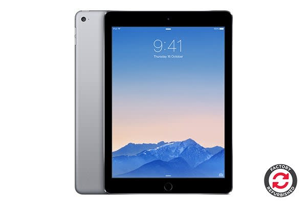 Apple iPad Air 2 Refurbished (128GB, Wi-Fi, Space Grey) - AB Grade