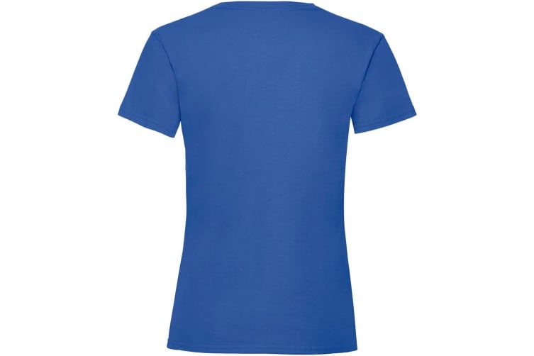 Fruit Of The Loom Girls Childrens Valueweight Short Sleeve T-Shirt (Royal) (7-8)