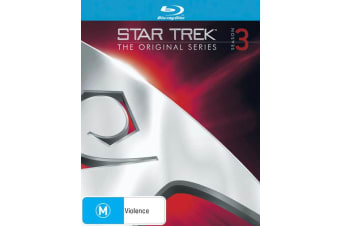 Star Trek the Original Series Season 3 Blu-ray Region B