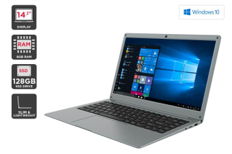 "Kogan Atlas 14.1"" N500 Notebook (8GB, 128GB SSD)"