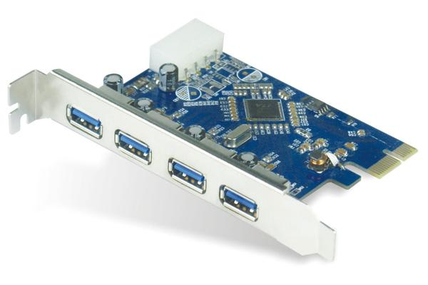 Astrotek USB 3.0 4 Port PCIe Add-on Card Renesas 720201 Chipset