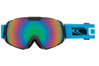 Carve Platinium Matt Black/Red Iridium Lens Goggles