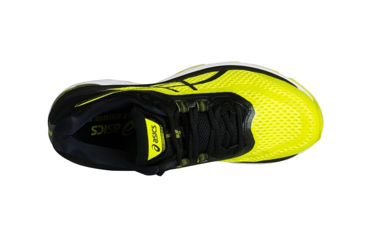 ASICS Men's GT-2000 6 Running Shoe (Sulphur Spring/Black/White, Size 11.5)