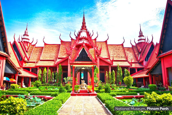 CAMBODIA & THAILAND: 16 Day Cambodia and Thailand Tour Including Flights for Two