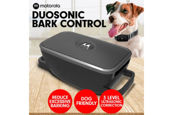 Motorola Duosonic Bark Control Collar 200U- Black