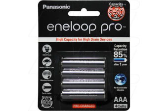 Panasonic Eneloop Pro rechargeable AAA battery