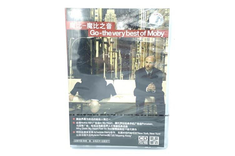 The very best of Moby- Music CD -Music Rare- Aus Stock DVD NEW