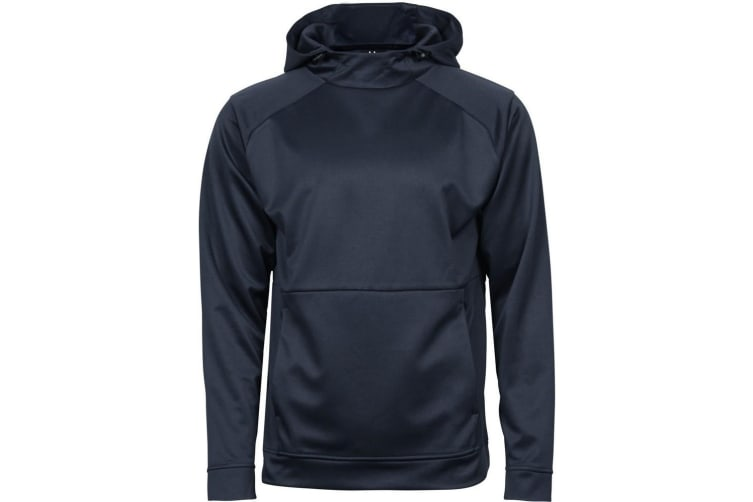Tee Jays Mens Performance Hoodie (Deep Navy) (2XL)