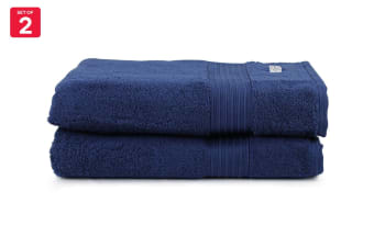 Onkaparinga Ultimate 100% Turkish Cotton Bath Towel Set of 2 (Midnight)