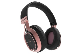 BlueAnt Pump Zone Wireless HD Audio Headphones - Rose Gold/Black
