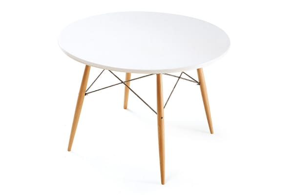Ovela Eames Replica Dining Table (White)