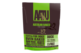 AATU Artisan Bakes Duck Biscuits For Dogs (May Vary) (150g)