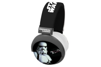 Star Wars Storm Troop Foldable Headphone Star Wars Round Headphone